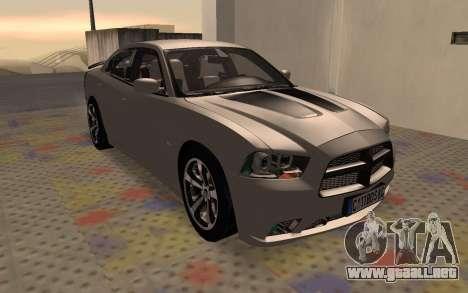 Dodge Charger Super Bee para GTA San Andreas left