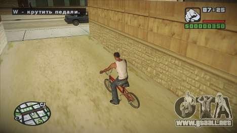 GTA HD mod 2.0 para GTA San Andreas sexta pantalla