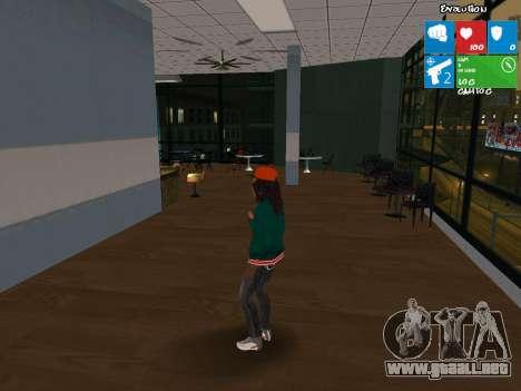 Catalina nueva para GTA San Andreas segunda pantalla