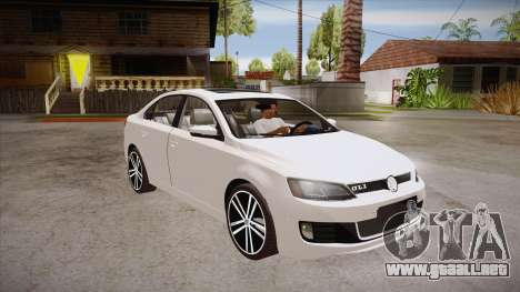 VW Jetta GLI 2013 para GTA San Andreas vista hacia atrás