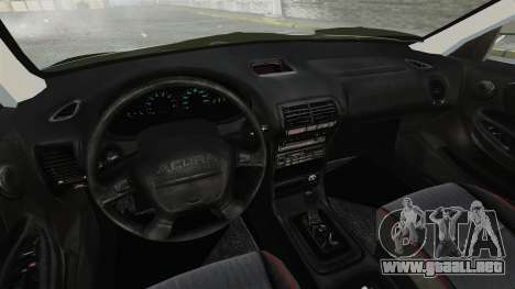 Acura Integra Type-R Domo Kun para GTA 4 vista interior