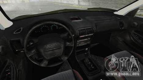 Acura Integra Type-R Domo Kun para GTA 4 vista interior