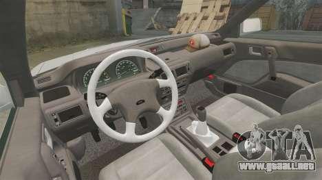 Mitsubishi Galant v2.0 para GTA 4 vista hacia atrás