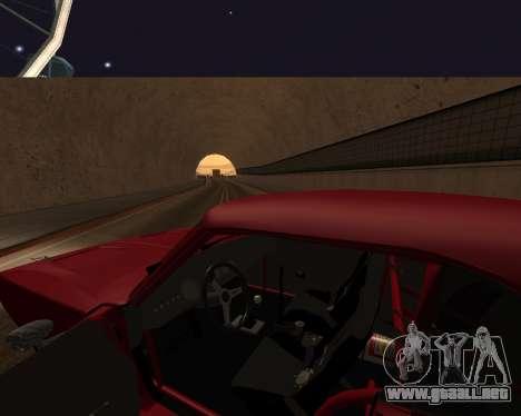 Dodge Charger Daytona para vista inferior GTA San Andreas