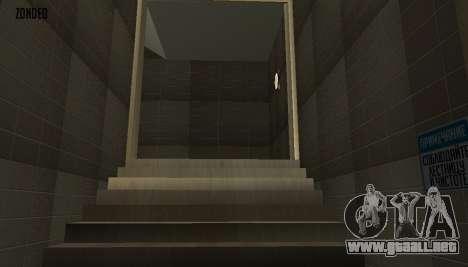 Retekstur el Interior del Ayuntamiento para GTA San Andreas décimo de pantalla