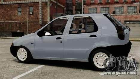 Fiat Palio EDX 1997 para GTA 4 left