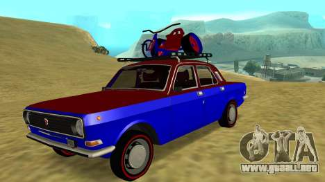 Volga GAZ-24 Fun para GTA San Andreas