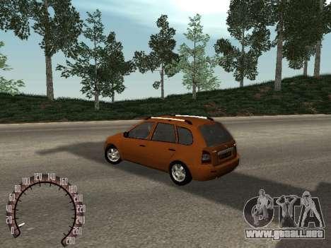Lada 1117 Kalina para GTA San Andreas left