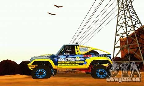Rally de UAZ 31514 para la visión correcta GTA San Andreas