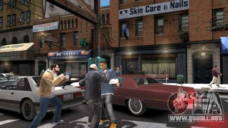 Franklin de GTA 5 para GTA 4 adelante de pantalla