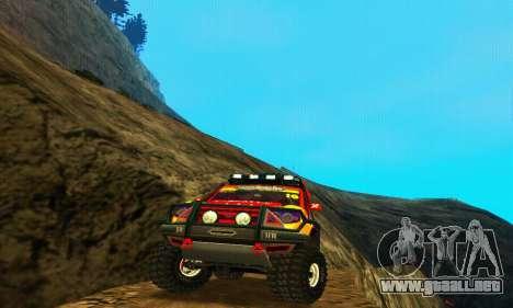UAZ Patriot juicio para la visión correcta GTA San Andreas