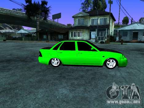 Lada Priora Carbon Lux para GTA San Andreas left