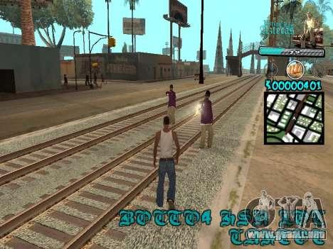 C-HUD by Kerro Diaz [ Aztecas ] para GTA San Andreas tercera pantalla