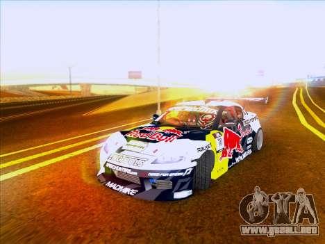 Mazda RX-8 NFS Team Mad Mike para GTA San Andreas left