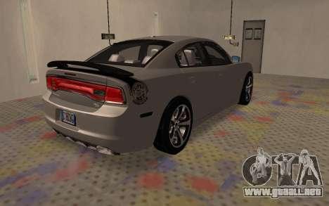 Dodge Charger Super Bee para GTA San Andreas vista posterior izquierda