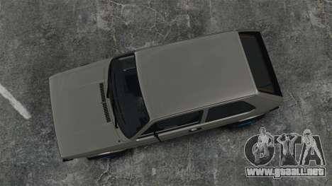 Volkswagen Golf MK1 GTI Update v2 para GTA 4 visión correcta