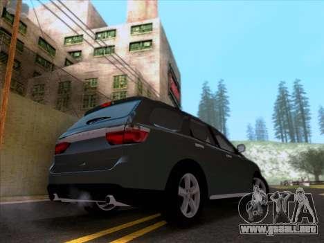 Dodge Durango Citadel 2013 para GTA San Andreas vista posterior izquierda