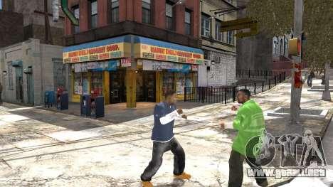 Franklin de GTA 5 para GTA 4 quinta pantalla