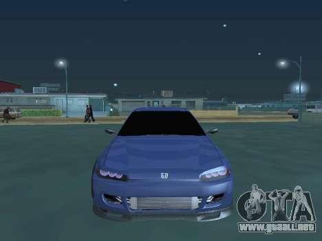 Honda Civic (EG6) 1994 para GTA San Andreas vista hacia atrás