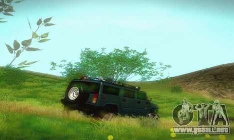 Hummer H2 Monster para la visión correcta GTA San Andreas