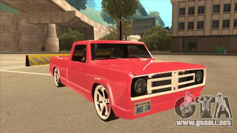 Modified Sadler para GTA San Andreas left