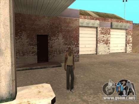 Conmutación entre personajes como GTA V 2.0 para GTA San Andreas sucesivamente de pantalla