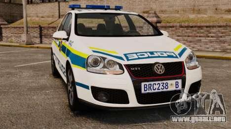 Volkswagen Golf 5 GTI Police v2.0 [ELS] para GTA 4