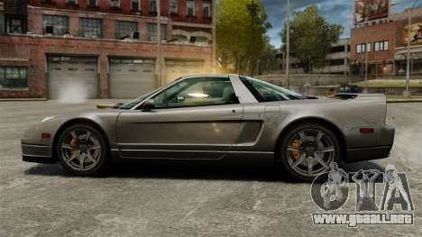 Acura NSX para GTA 4 left