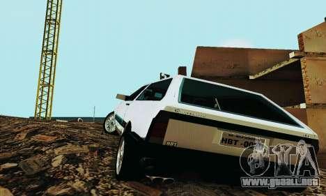 VW Parati GLS 1988 para la visión correcta GTA San Andreas