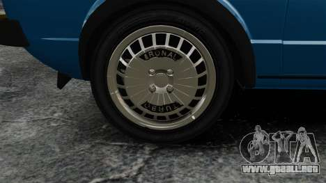 Volkswagen Golf MK1 GTI Update v2 para GTA 4 vista hacia atrás