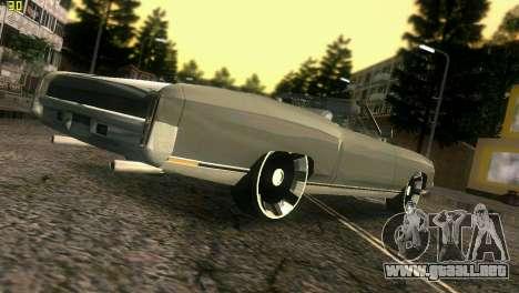 Chevy Monte Carlo para GTA Vice City vista superior