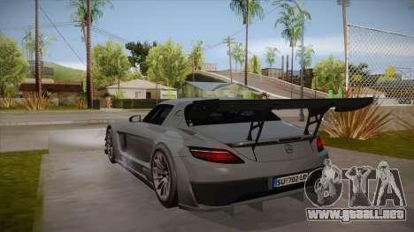Mercedes-Benz SLS (AMG) GT3 para la visión correcta GTA San Andreas