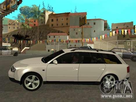 Audi A6 (C5) Avant para GTA San Andreas left