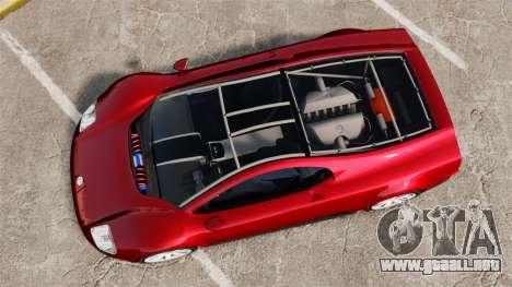 Volkswagen W12 Nardo 2001 [EPM] para GTA 4 visión correcta