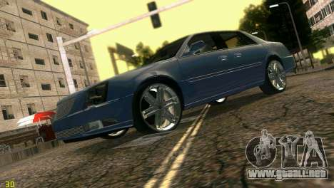 Caddy DTS DUB para GTA Vice City vista posterior