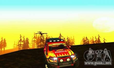 UAZ Patriot juicio para visión interna GTA San Andreas