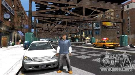Franklin de GTA 5 para GTA 4 tercera pantalla