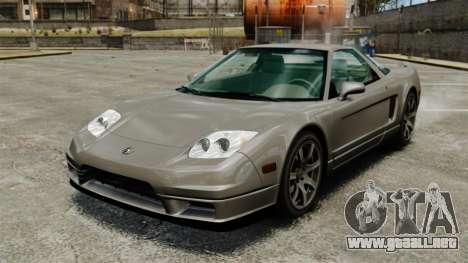 Acura NSX para GTA 4