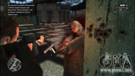 Sayga 12 para GTA 4 segundos de pantalla