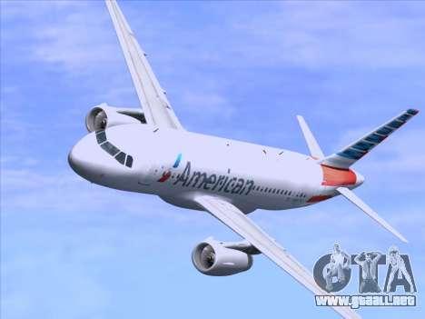 Airbus A319-112 American Airlines para el motor de GTA San Andreas