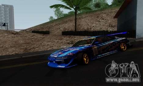 Nissan Silvia S15 Toyo Drift para GTA San Andreas left
