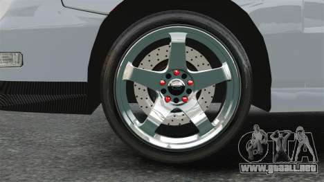 Acura Integra Type-R Domo Kun para GTA 4 vista hacia atrás