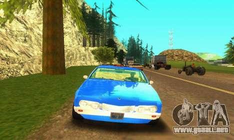 Fasthammer Taxi para GTA San Andreas left