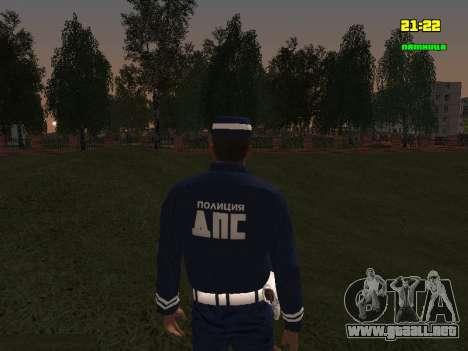 Sargento DPS para GTA San Andreas tercera pantalla