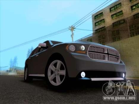 Dodge Durango Citadel 2013 para visión interna GTA San Andreas