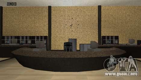 Retekstur el Interior del Ayuntamiento para GTA San Andreas sucesivamente de pantalla