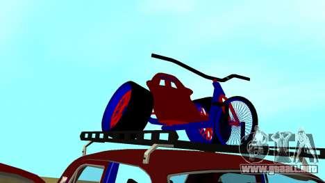 Volga GAZ-24 Fun para la vista superior GTA San Andreas