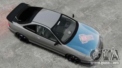 Acura Integra Type-R Domo Kun para GTA 4 visión correcta