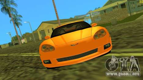 Chevrolet Corvette C6 para GTA Vice City left