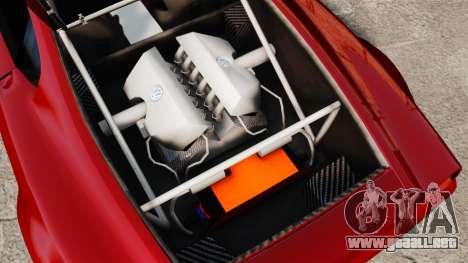 Volkswagen W12 Nardo 2001 [EPM] para GTA 4 vista hacia atrás